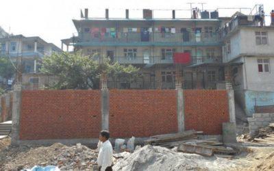 Construction du Bâtiment des filles