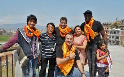 L'équipe du film « L'Ascension » chez Himali