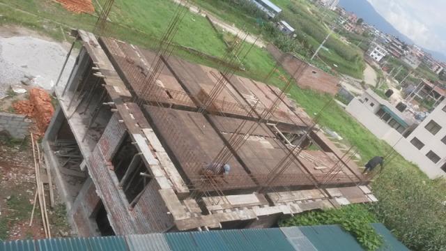 Construction du 2ème étage