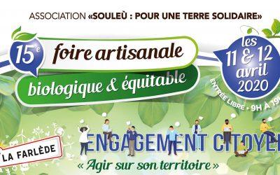 FORE BIOLOGIQUE DE LA FARLEDE 11,12 AVRIL2020